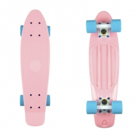 Deska FISHSKATEBOARDS Classic summer pink/ white/ summer blue