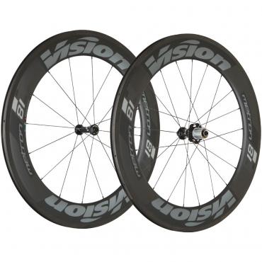 Vision Metron 81 SL Carbon Wheelset - Tubular