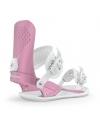 Wiązania snowboardowe UNION Legacy Metallic Pink