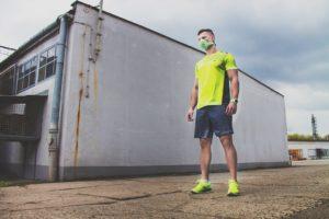 maski antysmogowe sportowe